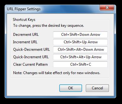 URL Flipper Firefox Extension