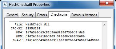 Sample Hash Check